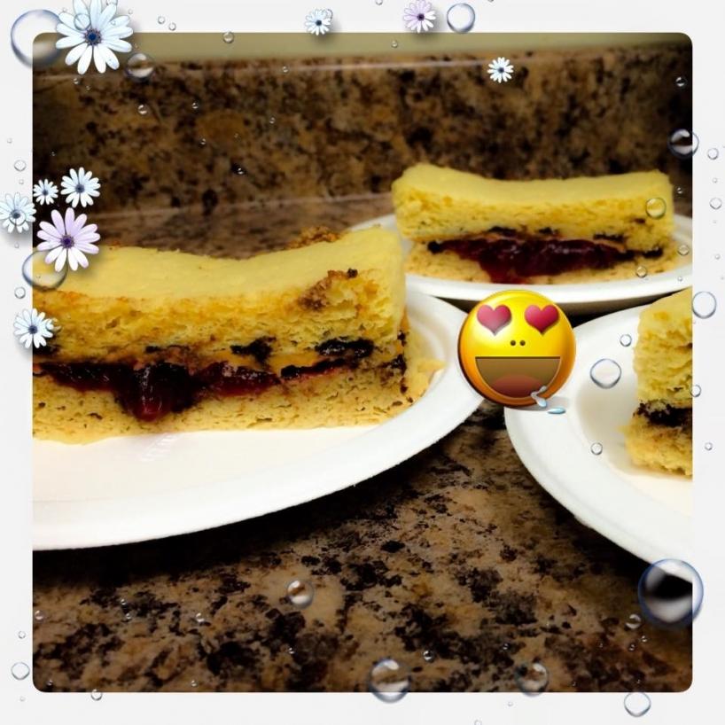 Gâteau garni