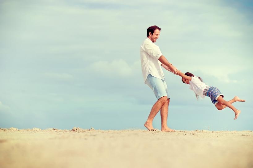 Papa et fille